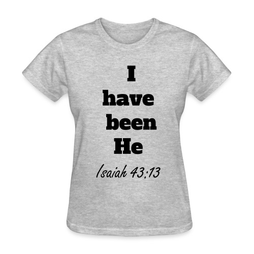 Women's T-Shirt with Bible Verse - Women's T-Shirt