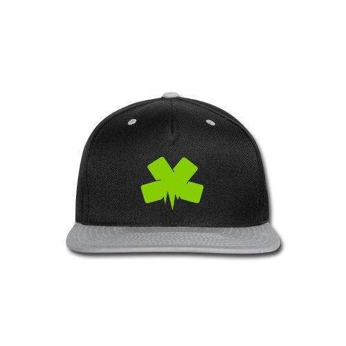 Snap-back Baseball Cap - Snap-back Baseball Cap