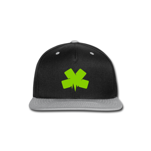Snap-back Baseball Cap - Snap-back Baseball Cap
