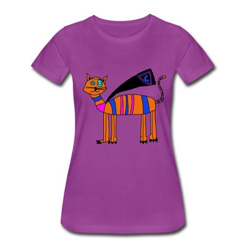 Super Cat - Women's Premium T-Shirt