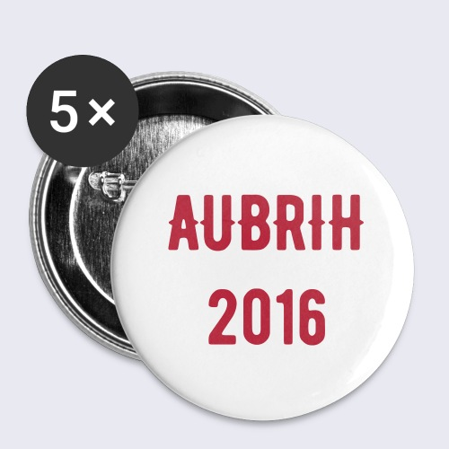 AUBRIH 2016 BUTTONS - Large Buttons