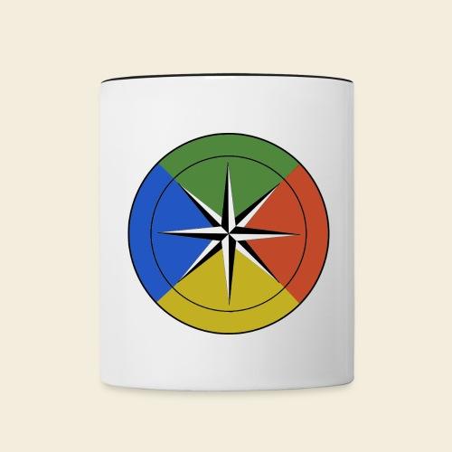 Temperament Compass Mug - Contrast Coffee Mug