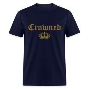 Metallic 'Crowned' Tshirt - Men's T-Shirt