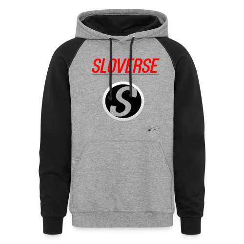 Sloverse Color-Coded Hoodie - Colorblock Hoodie