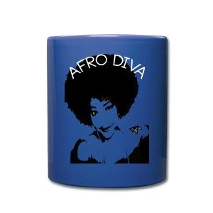 Afro Diva - Full Color Mug