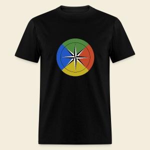 Temperament compass t-shirt - Men's T-Shirt
