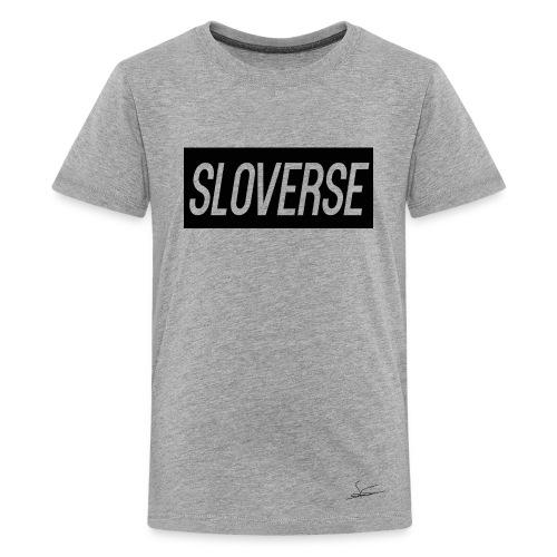 Sloverse Black Design T-Shirt Kids - Kids' Premium T-Shirt