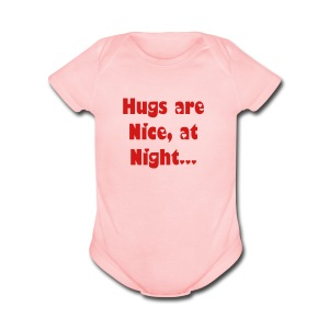 light Heart'D Baby - Short Sleeve Baby Bodysuit