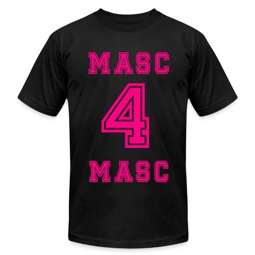Masc 4 Masc Neon Pink - Men's Fine Jersey T-Shirt