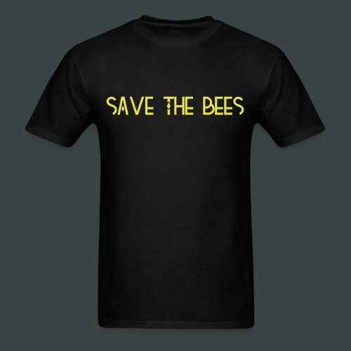 save the bees mens tshirt - Men's T-Shirt