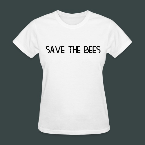 save the bees womens tshirt - Women's T-Shirt