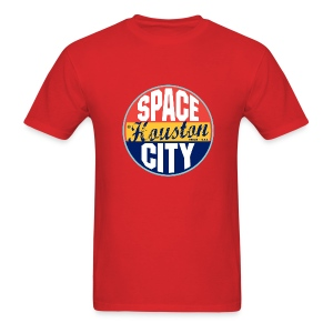 Space Houston City Jersery  - Men's T-Shirt