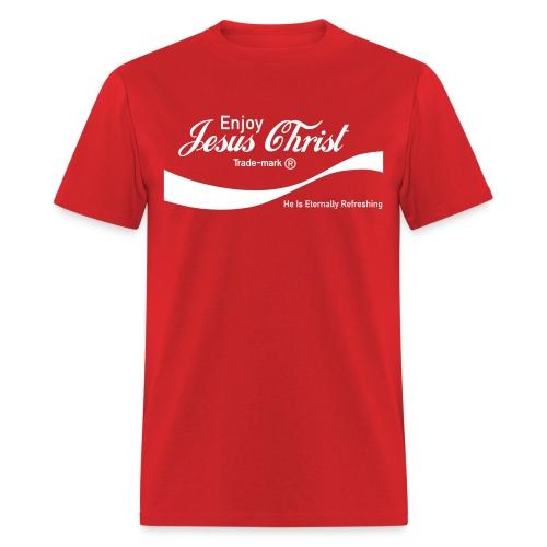 Know Jesus Christ T-Shirt - Men's T-Shirt