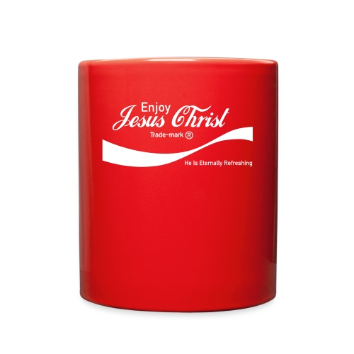 Know Jesus Christ Koozie - Full Color Mug