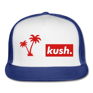 Kush And Trees baseball Cap - Trucker Cap