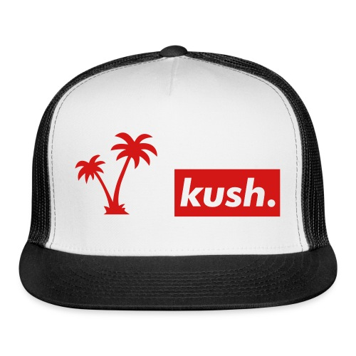 Kush And Trees baseball Cap - Trucker Cap