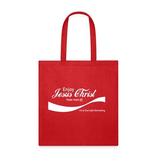 Know Jesus Christ Canvas Tote Bag - Tote Bag