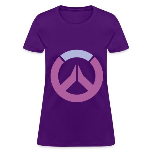 Overwatch Logo Widowmaker Colors Women's T-Shirt - Women's T-Shirt