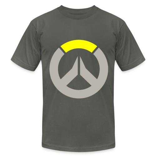 Overwatch Logo Reinhardt Colors Men's T-Shirt - Men's Fine Jersey T-Shirt
