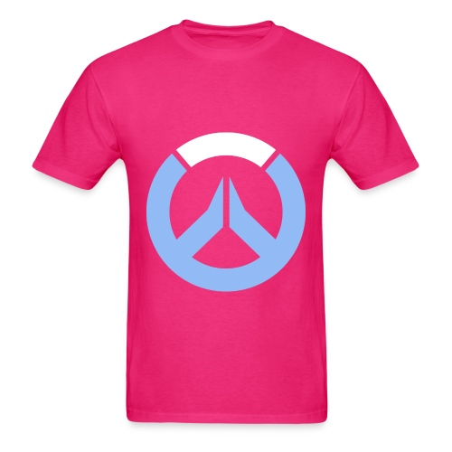Overwatch Logo D.Va Colors Men's T-Shirt - Men's T-Shirt