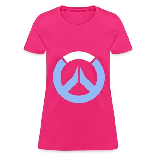 Overwatch Logo D.Va Colors Women's T-Shirt - Women's T-Shirt