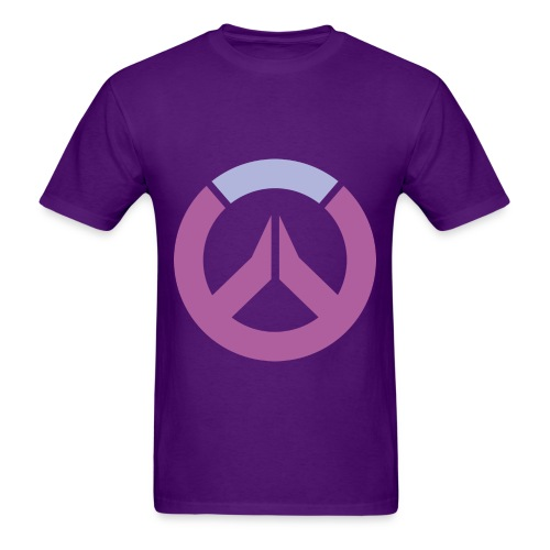Overwatch Logo Widowmaker Colors Men's T-Shirt - Men's T-Shirt