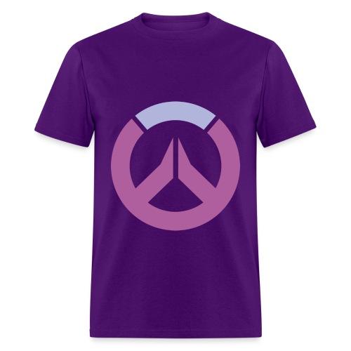 Overwatch Logo Widowmaker Colors Men's T-Shirt - Men's T-Shirt