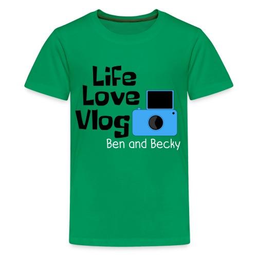 Kids Basic Vlogger shirt - Kids' Premium T-Shirt