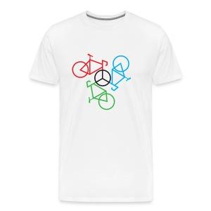 Bike Peace - Men's Premium T-Shirt