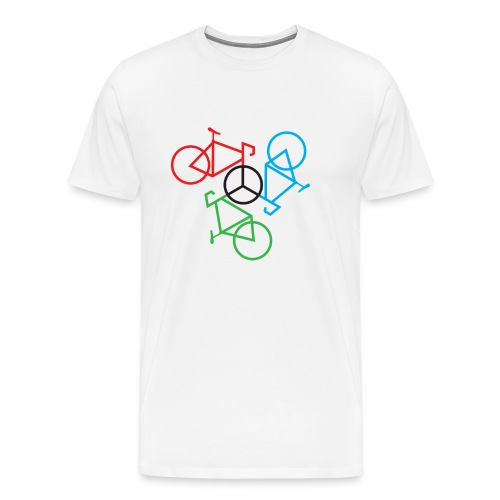 Bike Peace - Men's Premium T-Shirt