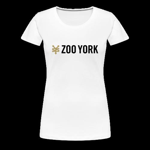 zoo york - Women's Premium T-Shirt