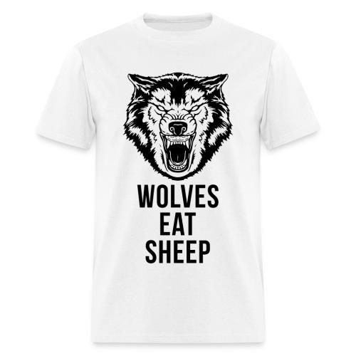 Wolf - Wolves Eat Sheep T-Shirt - Men's T-Shirt