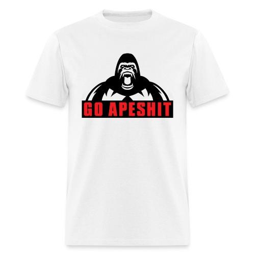Go Apeshit - Gorilla T-Shirt - Men's T-Shirt