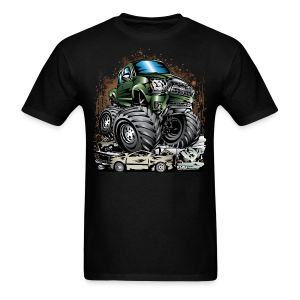 Tacoma Monster Truck Green - Men's T-Shirt