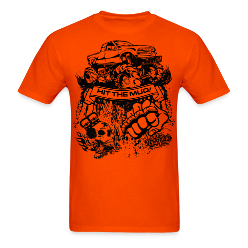 Off-Road Mud Truck - Men's T-Shirt