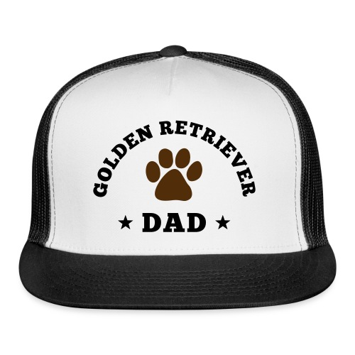 Golden Retriever Dad Hat - Trucker Cap