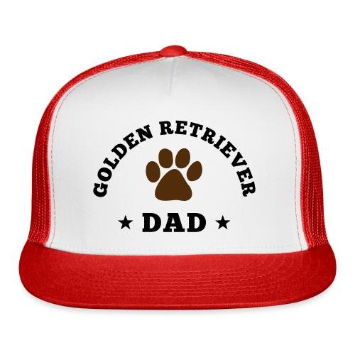 Golden Retriever Dad Hat - Trucker Cap