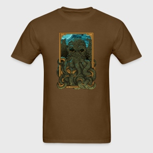 Answer the Call of Cthulhu - Men's T-Shirt