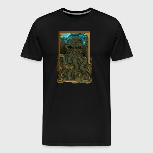 Answer the Call of Cthulhu - Men's Premium T-Shirt