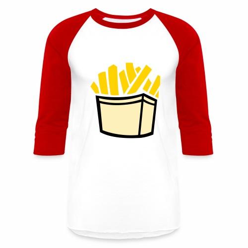 French Fries T-shirt - Baseball T-Shirt