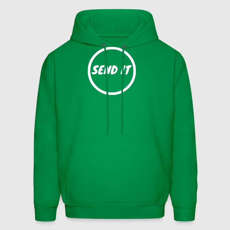 Summer Night Send It Hoodie - Go For It Green - Men's Hoodie