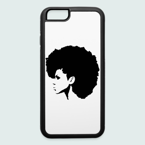 Afrocentric Female Iphone 6/6s  Case - iPhone 6/6s Rubber Case