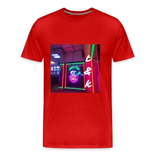 The Wok in Red - Men's Premium T-Shirt