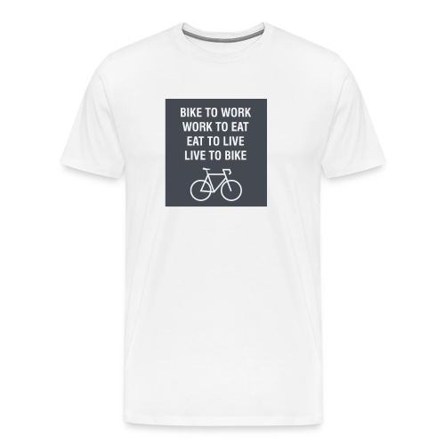 Bike to Bike 2 - Men's Premium T-Shirt