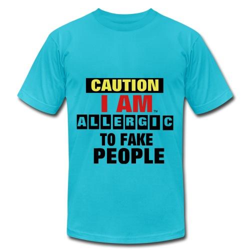 fakers beware - Men's  Jersey T-Shirt