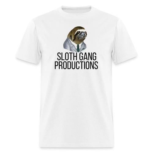 SLOTH GANG PRODUCTIONS LOGO - Men's T-Shirt