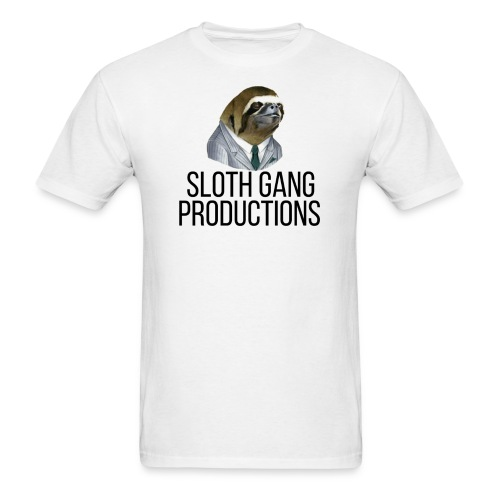SLOTH GANG PRODUCTIONS LOGO - Men's T-Shirt