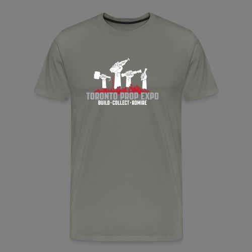 Toronto Prop Expo Skyline on Premium Tee - Men's Premium T-Shirt