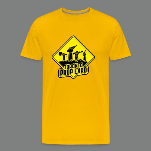 Toronto Prop Expo Sign on Premium Tee - Men's Premium T-Shirt
