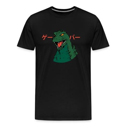 Godzilla Game Over - Men's Premium T-Shirt